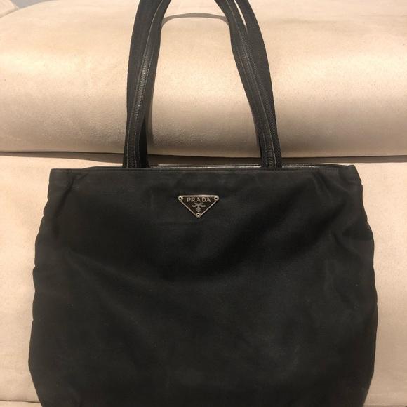6c6ac0867d5 Prada Bags | Leather And Nylon Bag | Poshmark